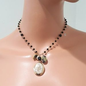 Stephan & Co GOLD PLATED LOCKET NECKLACE